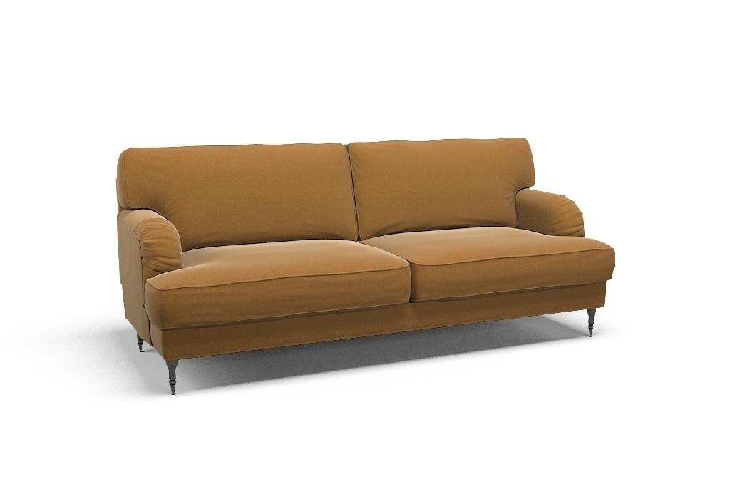 Bezug für STOCKSUND 3-Sitzer Sofa - Palermo Mustard Stoff ...
